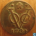 Coins - Dutch East Indies - VOC 1 duit 1734 Holland