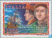 Postage Stamps - Italy [ITA] - Discovery of America 500 years
