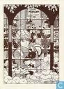 Kerstkaart 1988 - 1989 - Stripantiquariaat en Stripgalerie Panda