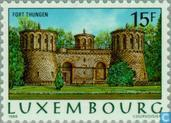 Postage Stamps - Luxembourg - Luxembourg Fortress