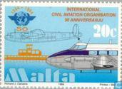 Postage Stamps - Malta - Aviation anniversaries and events