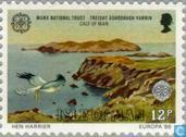 Timbres-poste - Man - Europe – Conservation de la nature