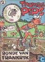 Strips - Thomas Pips - Thomas Pips in de Ronde van Frankrijk 2