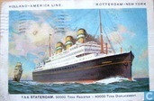Postcards - Shipping - T.S.S. Statendam