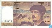 Billets de banque - Banque de France - France 20 Francs
