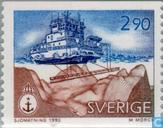 Postage Stamps - Sweden [SWE] - Hydrographic surveying services