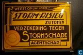 Enamel signs - Insurences - Zutphen stormschade