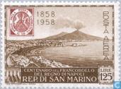 Naples anniversaire Stamp