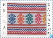 Timbres-poste - Grèce - Folk grec