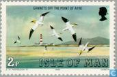 Postzegels - Man - Zeevogels