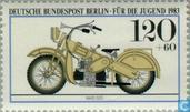 Postzegels - Berlijn - Motoren