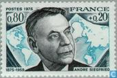 Postage Stamps - France [FRA] - Siegfried, André birthday 1875 -