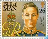 Postage Stamps - Man - 20th Century British Heads of State