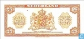 Billets de banque - Muntbiljet 1943 - 1943, 25 florins Bas II