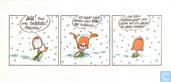Kerstkaart 1993 (aha! toch nog sneeuw...)