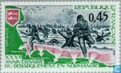 Postage Stamps - France [FRA] - Normandy Landing