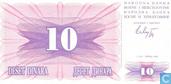 Bosnie-Herzégovine 10 Dinara 1992