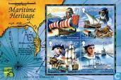 Postzegels - Gibraltar - Geschiedenis zeevaart