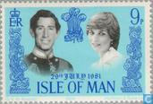 Postage Stamps - Man - Wedding Prince Charles and Diana