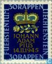 Postage Stamps - Liechtenstein - Johann Adam Birth Pius
