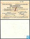 Bankbiljetten - Zilverbon Nederland - 1 gulden Nederland 1914