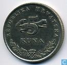 Munten - Kroatië - Kroatië 5 kuna 1994
