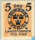 Postzegels - Zweden [SWE] - Landstorm