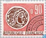 Timbres-poste - France [FRA] - Monnaie gauloise