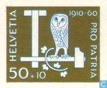 Postzegels - Zwitserland [CHE] - Pro Patria 50 jaar