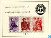 Postage Stamps - Belgium [BEL] - World Refugee Year