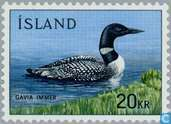 Postage Stamps - Iceland - fauna
