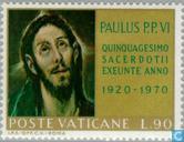 Postzegels - Vaticaanstad - Paus Paulus VI