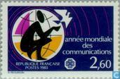 Postage Stamps - France [FRA] - Communications Year