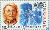 Postage Stamps - Norway - 480 blue / brown