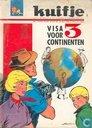 Bandes dessinées - Franval, Les - Visa voor 3 continenten