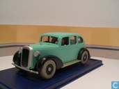 "Model cars - Atlas - De auto van de gangsters uit ""Kuifje in Amerika"""