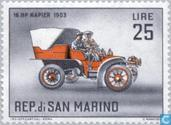 Timbres-poste - Saint-Marin - Voiture