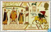 Postage Stamps - Jersey - Conqueror, William the