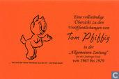 """Vollständige Übersicht zu den Veröffentlichungen von Tom Pfiffig in der """"Allgemeinen Zeitung"""" 1965-1979"""