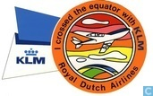 Luftverkehr - KLM - KLM - I crossed the equator