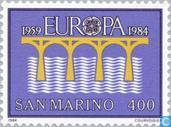 Postage Stamps - San Marino - Europe – Bridge