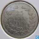 Coins - the Netherlands - Netherlands 25 cent 1893