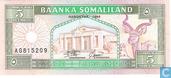 Billets de banque - Baanka Somaliland - Somaliland 5 shillings