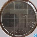 Monnaies - Pays-Bas - Pays Bas 1 gulden 2000