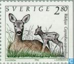 Postage Stamps - Sweden [SWE] - Wild animals