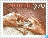 Postage Stamps - Norway - 270 Brown