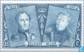 Postage Stamps - Belgium [BEL] - 75 years of Belgian stamp