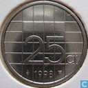 Coins - the Netherlands - Netherlands 25 cents 1998