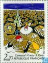 Postage Stamps - France [FRA] - Venetian carnaval in Paris