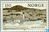 Postage Stamps - Norway - Inland Navigation